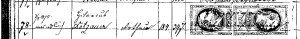 Dotzauer Registereintrag 3.04.1875