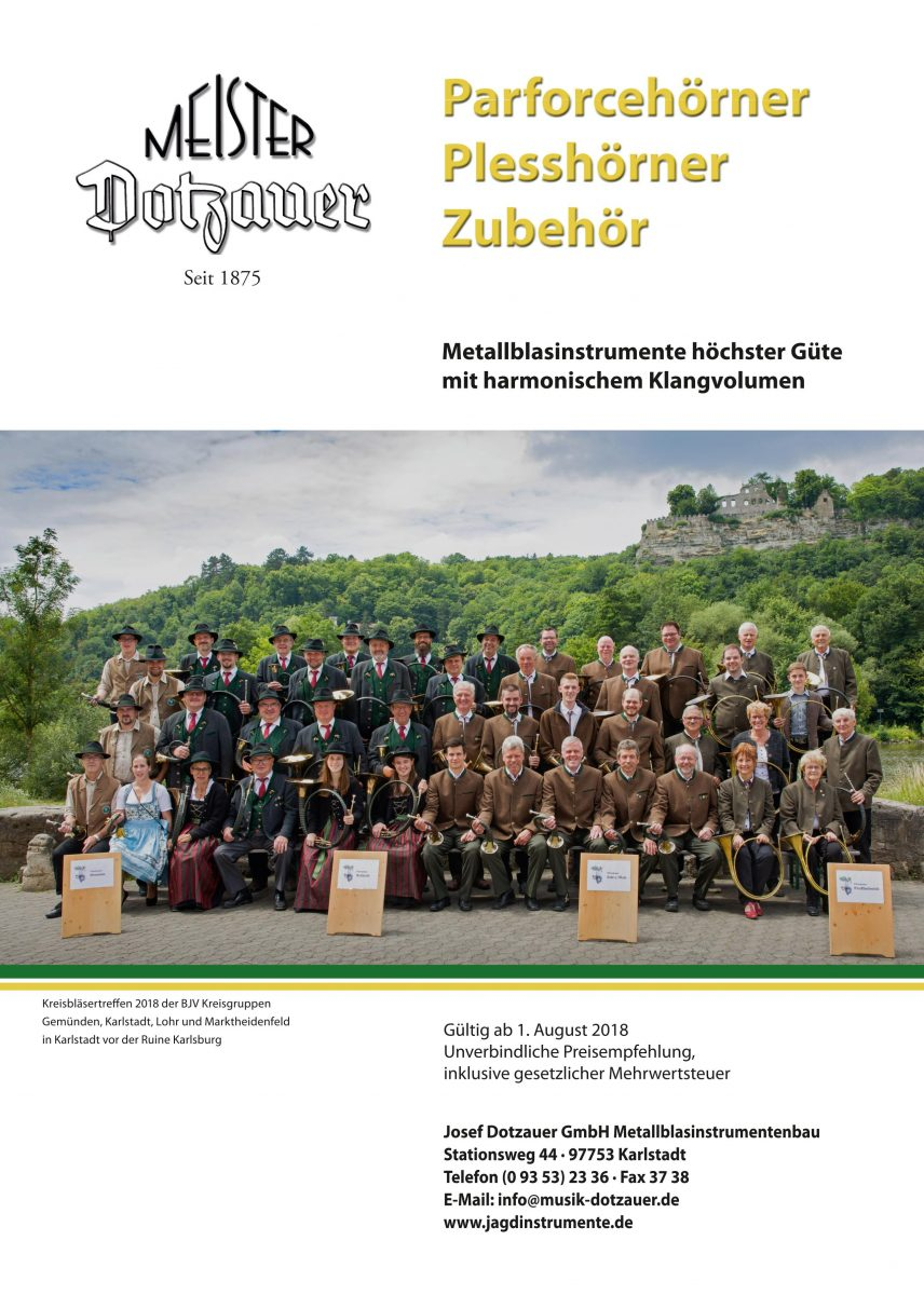 Titelseite Katalog Parforce Pless Zubehör